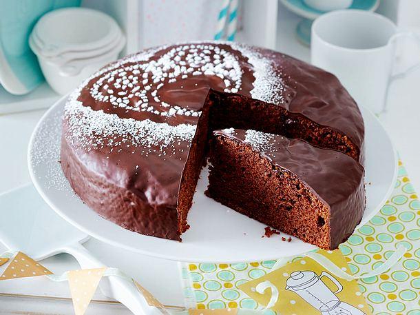 Schoko Mango Kuchen Rezept Lecker