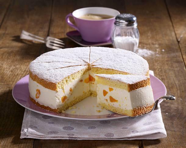 Kase Sahne Torte Mit Mandarinen Rezept Lecker