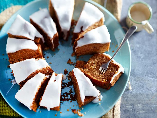 Mohrenkuchen Mit Zitronenguss Rezept Lecker