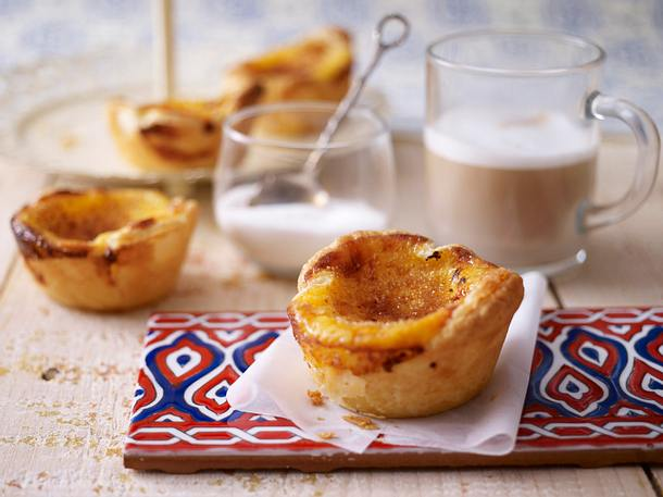 Pasteis De Nata Puddingtortchen Rezept Lecker