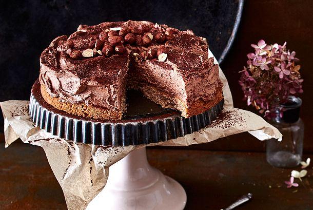 Buchweizen Schokomousse Torte Rezept Lecker