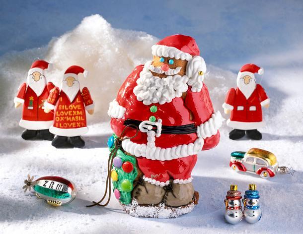 Lustiger Weihnachtsmann Rezept | LECKER