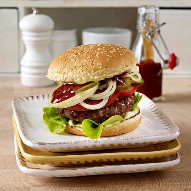Classic Burger Rezept Lecker