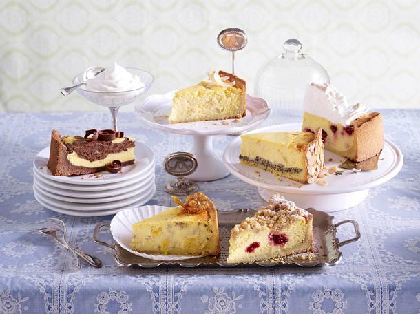 Kase Mohn Kuchen Einzel Rezept Lecker