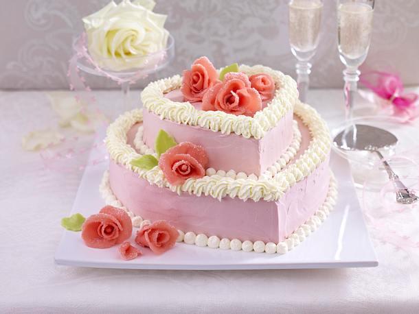 Festliche Hochzeitstorte Rezept Lecker
