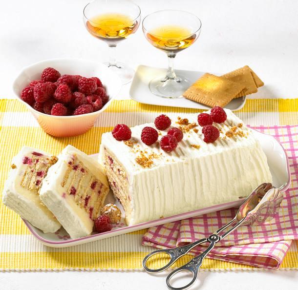 Himbeer Keks Kuchen Rezept Lecker
