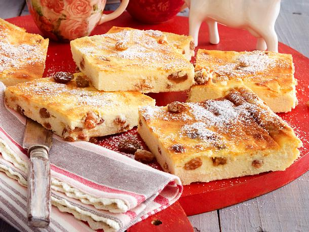 Quarkkuchen Vom Blech Rezept Lecker