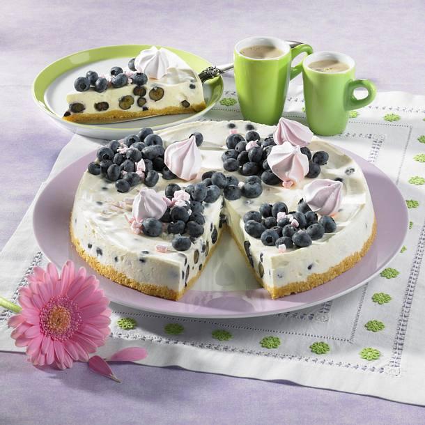 Probiotischer Heidelbeeer Vanille Kuchen Rezept Lecker