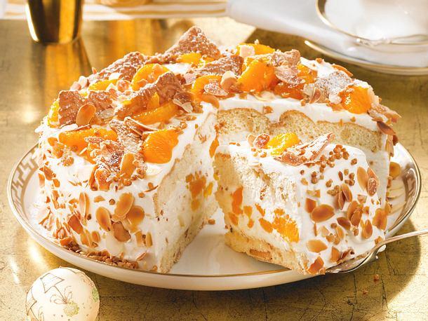 Weihnachts Mandarinen Torte Rezept Lecker