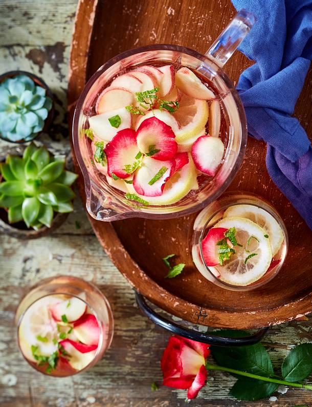 Tapasparty – Sangria rosé Rezept | LECKER