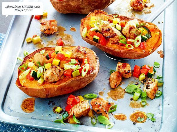 Ofen Süßkartoffel Rezept Lecker
