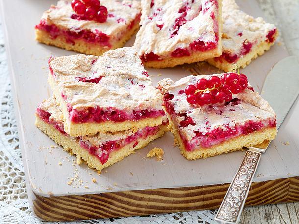 Johannisbeer Baiser Kuchen Rezept Lecker