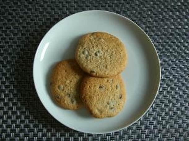 Weihnachtsplätzchen Schokoladenplätzchen.Schokoladenplätzchen Ernie Kekse