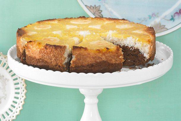 Gesturzter Ananas Kokos Kuchen Rezept Lecker
