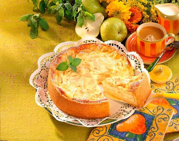 Birnen Quark Kuchen Rezept Lecker