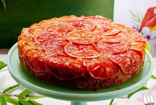 sunrise cake mit orangen rezept lecker