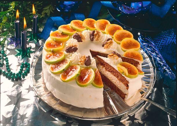 Feigen Walnuss Torte Rezept Lecker