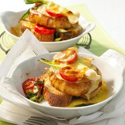 Camembert-Steak-Schnitte Rezept