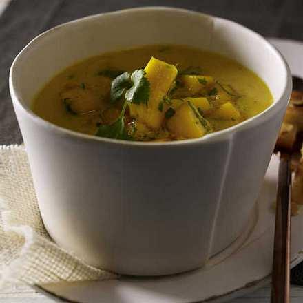 Mango-Möhren-Suppe Rezept