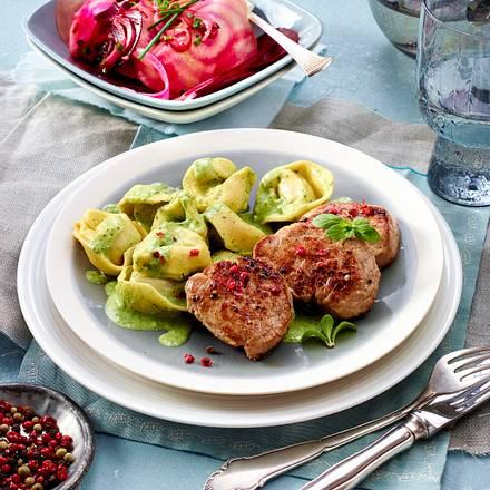 """""""Schwein gehabt"""" - Filet zu Tortelloni Rezept"""