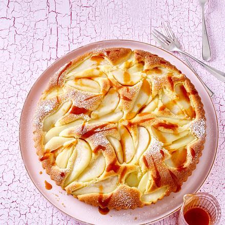 1 Teig, 3 Kuchen – Birnentarte Rezept