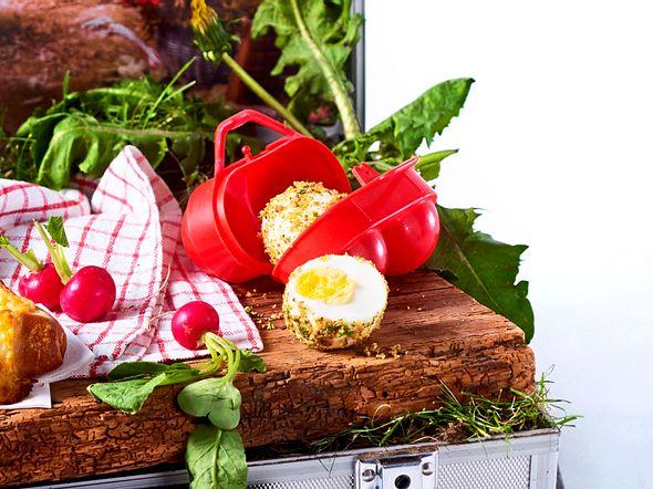 10-Minuten-Eier in Gewürzkruste Rezept