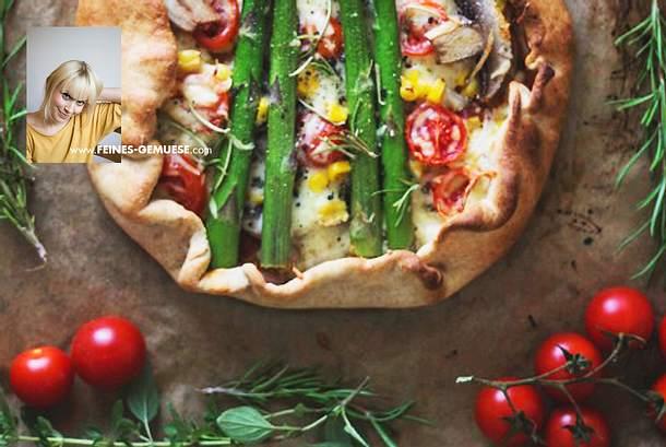 10 Minuten Pizzagalette Rezept