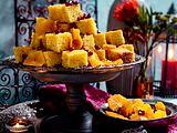 1001 Nacht-Party – Grießkuchen mit Orangensalat Rezept
