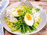 20-Minuten-Mahl: Eier in Currysoße Rezept