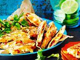 baked carrot siesta quesadillas Rezept