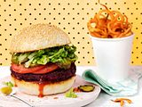 Be my Rote-Bete-Bohnen-Burger Rezept