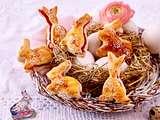 Blätterteig-Häschen Rezept