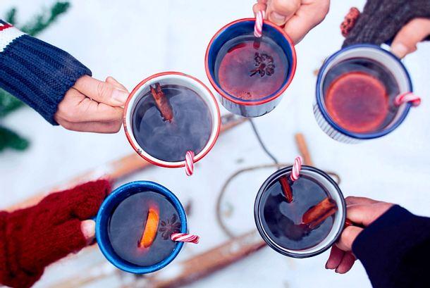 Blutorangen-Glühwein Rezept
