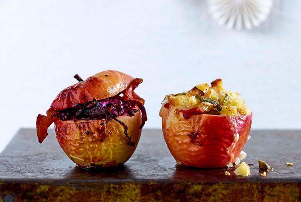 Bratapfel à la Raclette Rezept