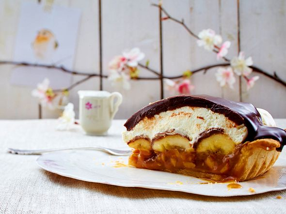 Butterscotch-Banana-Pie Rezept