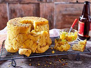 Curry-Ciabatta als Zupfbrot Rezept