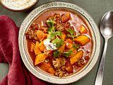 curry-hack-topf mit Kürbis Rezept