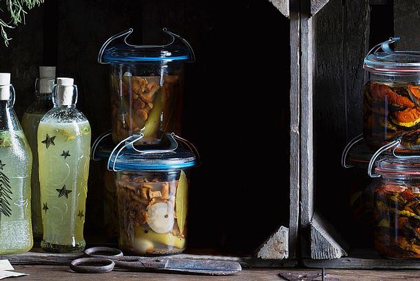 Eingelegte Festtags-Pilze Rezept