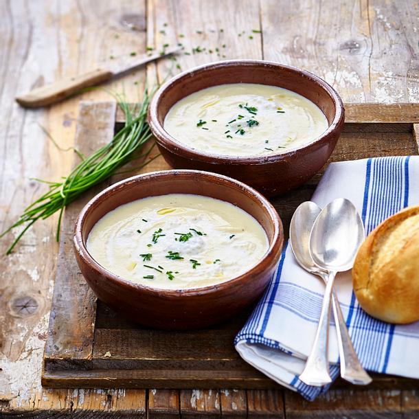 Schwarzwurzel-Ingwer-Suppe Rezept