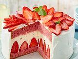 Erdbeer-Hugo-Torte (Titel) Rezept
