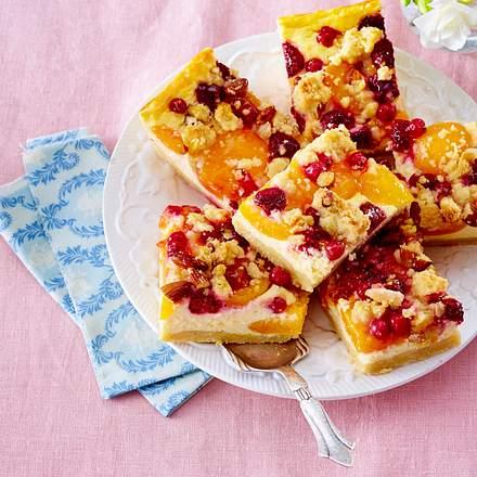 Johannisbeer-Aprikosen-Kuchen–Titel Rezept