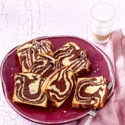 1 Teig, 3 Kuchen – Zebrakuchen mit Pflaumenmus Rezept