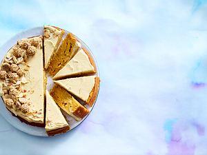 Karotten-Kuchen mit Butter-Scotch-Creme Rezept