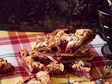 Blechkuchen mit Himbeeren (Bakewell Kuchen) Rezept