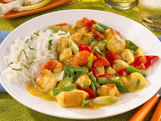 Geflügel-Thai-Curry-Rezept