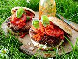 Gegrillter Bohnen-Burger