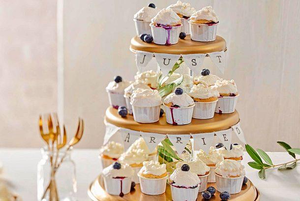 Just-married-Heidelbeer-Muffins Rezept