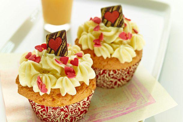 Königliche Apfel Cupcakes mit VERPOORTEN ORIGINAL Rezept