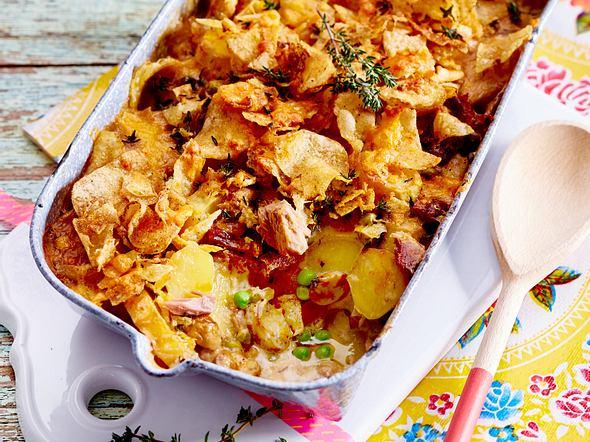 Kartoffelauflauf mit Thunfisch Rezept