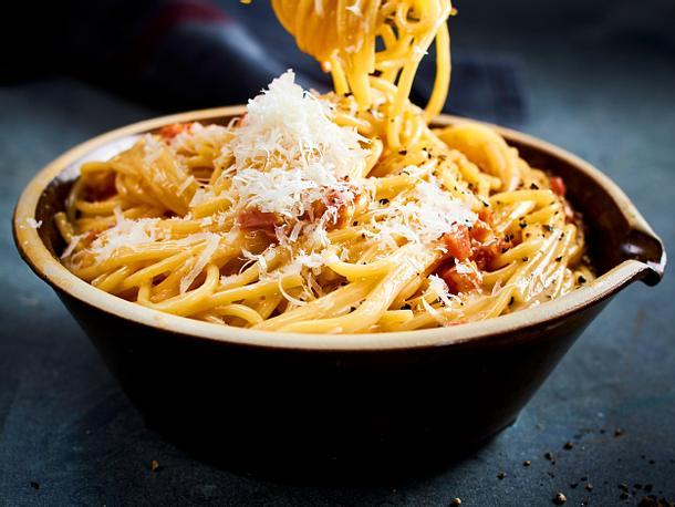 Klassische Spaghetti Carbonara Rezept
